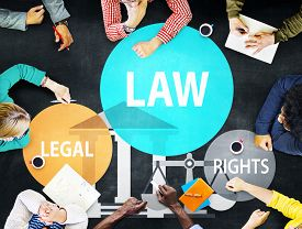 stock photo of punish  - Law Legal Rights Judge Judgement Punishment Judicial Concept - JPG