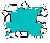 Vector Filmstrips Border