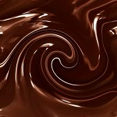 Smooth Chocolate Swirls