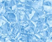 Ice Blue Seamless Background, See Vector Also In My Portfolio