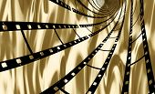 Film Spiral On Gold
