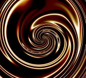 Dark Chocolate Swirls