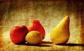 Photo Art Fruit Grunge