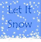 Vector Let It Snow