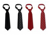 stock photo of chokers  - Tie set - JPG