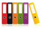 colored ring binders