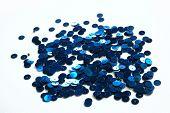 shiny metal beads