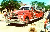 Alte Feuerwehrauto