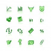 grüne Finance icons
