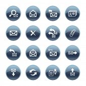 Mineral drop e-mail icons