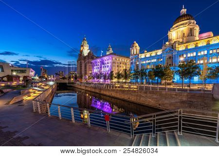 Liverpool Skyline building at Pier