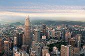 Kuala Lumpur Skyline Before Sunset, Malaysia, Kuala Lumpur Is Capital City Of Malaysia. poster