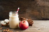 Apple Pie Protein Smoothie poster
