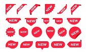 Stickers For New Arrival Shop Product Tags, New Labels Or Sale Posters And Banners Vector Sticker Ic poster
