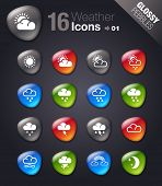Glossy Pebbles - Weather Icons