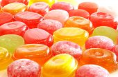 Background of sweets