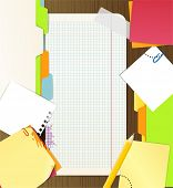 Background of an office stuff