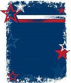 Patriotic USA Stars & Stripes Background