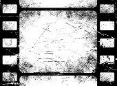 Grunge filmstrip background