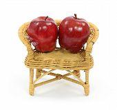Manzanas en juguete Loveseat