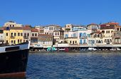 Chania city in Crete island, Greece