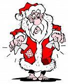 Bettler Santa Claus