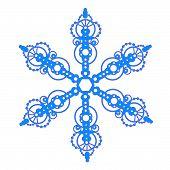 Regal Bauble Snowflake
