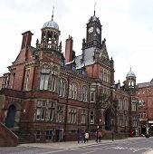Vista para o juiz, York, Inglaterra