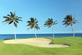 Hawaii-Golfplatz