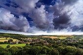 Cerne Abbas Dorset England