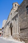 Church of St. Martino. Tarquinia. Lazio. Italy.