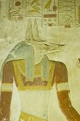 Anubis carving, Abydos Temple
