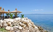Brela,adriatic Sea,Dalmatia,Croatia