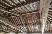 Modern wooden roof