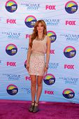 LOS ANGELES - JUL 22:  Bella Thorne arriving at the 2012 Teen Choice Awards at Gibson Ampitheatre on July 22, 2012 in Los Angeles, CA