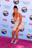 LOS ANGELES - JUL 22:  Francia Raisa arriving at the 2012 Teen Choice Awards at Gibson Ampitheatre o