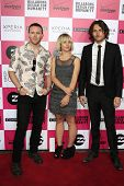 LOS ANGELES - JULY 25: Joy Formidable at Billabong's 6th Annual Design For Humanity Event at Paramou
