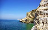 Natural Rock Formation At  Algarve