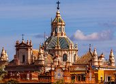 Church Of El Salvador Seville Spain