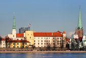 President Palace In Old Riga, Latvia