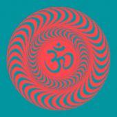 Om symbol illustration. Vector