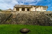 Palenque Palace Stairs