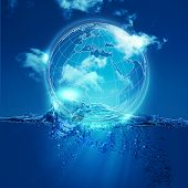 Whole World Into The Water Bubble