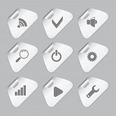 Editor Tools Icon Set