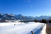 Oberstdorf Bavarian Alps