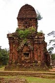 stock photo of champa  - My son a complex of the Champa architecture in Vietnam - JPG