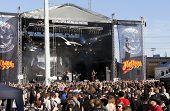 Fans at Finntroll gig at Tuska Festival
