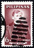 Postage Stamp Philippines 1962 Jose Rizal, National Hero