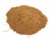 pic of cassia  - A pile of ground cassia  - JPG