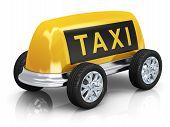 Concepto de taxi